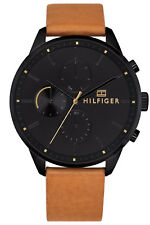 Tommy Hilfiger Analog Casual Chase Brown Mens 1791486