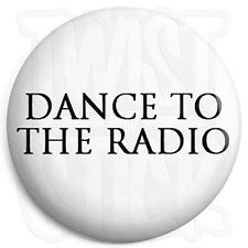 Joy Division - Dance to the Radio - White - Post Punk Indie 25mm Button Badge