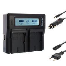 BATTERIA Caricabatterie Dual Charger per Canon lp-e6 lp-e6n | 90329 EOS 5ds R xc10 xc15