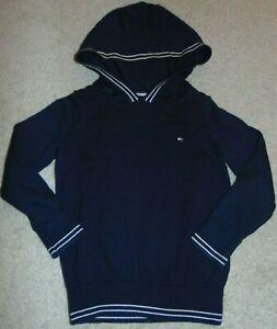 ~LN Boys TOMMY HILFIGER Long Hoodie Sweater! Size 4 Super Cute FS:)~