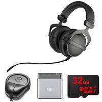 BeyerDynamic DT 770 Pro Closed Dynamic Over-Ear Headphones 32 Ohm w/ Amp. Bundle
