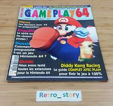 Nintendo Magazine Gameplay 64 Hors-Serie Volume 1
