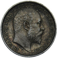 More details for 1904 maundy penny - edward vii british silver coin - very nice