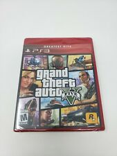 New listing Grand Theft Auto V - PlayStation 3 Ps3 - Brand New - Sealed!