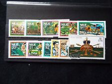 Niue: 1977 Definitive Surcharge Set MNH