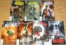Criminal Macabre #1-5 VF/NM complete series + die die my darling + feat of clay