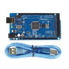 Mega2560 R3 ATmega2560-16AU ATMEGA16U2 Board + Free USB Cable for Arduino