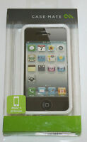 CASE-MATE Naked Case for Apple iPhone 4/4S - White - NEW