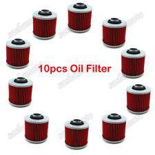 10x Oil Filter For Yamaha XV750 XC200 XV250 XT500 TT500 TT250 XV920 XZ550 MT03