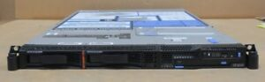 IBM System P5 505 9115-505 IBM 9316 Power CPU 1GB DDR2 Ram 2x Caddies 1U Server