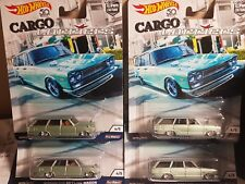 Hot wheels Cargo Carriers 69 Nissan C10 Skyline Wagon X4 lot