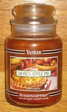 Yankee Candle - MOM'S APPLE PIE - 22 oz - Black Band - HARD TO FIND!!