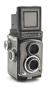 Yashica-A TLR Gray Medium Format Camera #33070