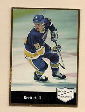 1991-92 STLOUIS BLUES BRETT HULL # 44 SPORTS EDUCATIONAL  CARD