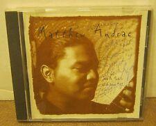 MATTHEW ANDRAE Jicarilla Apache circa 2000 ad CD Autographed RARE Excellent!!