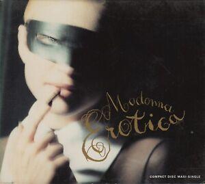 Madonna  CD-MAXI  EROTICA  ©  1992   DIGIPACK  USA    7  TRACKS