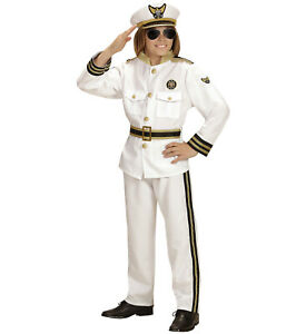 Costume Carnaval Bébé Capitaine Marine Ps 26341