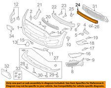 FORD OEM Mustang Front Bumper Grille-Impact Reinforcement Bar Rebar FR3Z17757C