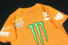 DC Shoes Ken Block Ford Racing T Shirt Mens Medium Orange Monster Rally