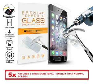 Premium 9H Tempered Glass Screen Protector For iPhone 11 X XR XS 8 7 6 Plus