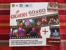 LOS SALVAJES MIQUI PUIG 60X60 LEYENDAS DEL POP ROCK CD + DVD NEW NUEVO