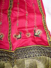 indian Bollywood Gaghra Chaniya Choli womens skirt embroidered