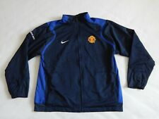 MANCHESTER UNITED FOOTBALL TRAINING TRACK TOP JACKET ,MENS XL