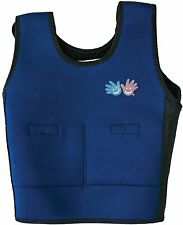 Fun and Function's Blue Weighted Compression Vest for Kids / Teens Size Medium