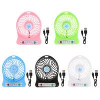 AB/_ BL/_ LED Light Romantic Love Mini Handheld Fan Wind Blower Summer Cooler Late