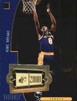 1998-99 SPx Finite Radiance Lakers Basketball Card #151 Kobe Bryant SPx/2025