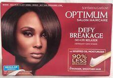 Softsheen Carson Optimum Salon Haircare Defy Breakage No-Lye Relaxer Kit