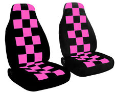FORD RANGER 60-40 Highback seat Checkers car seat covers CHOOSE YOUR COLOR