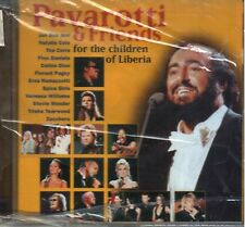 PAVAROTTI & FRIENDS FOR THE CHILDREN OF LIBERIA CD NEW