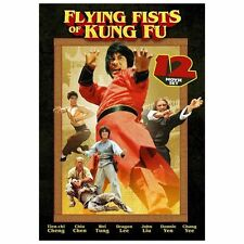 Flying Fists of Kung Fu: 12 Movie Set (DVD, 2013, 3-Disc Set) Brand New