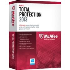 McAfee Total Protection 2013 - Protect 3 PC's  Full Version Windows MTP13EWB3RAA