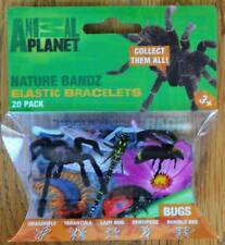 Animal Planet - Bugs - Logo Bandz 20 pk new Very Silly