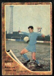 A&BC Gum, FOOTBALLERS, Make A Photo, 1963, Ronnie Rees, Coventry City, #69