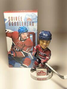 MAX DOMI - Montreal Canadiens - Bobble head in original box - Limited /5000