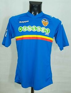VALENCIA SPAIN FOOTBALL SHIRT 2011/2013 KAPPA SIZE S VGC >//
