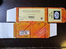 BOITE VIDE NOREV  CITROEN 2CV AZU  1958  EMPTY BOX CAJA VACCIA