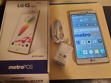 LG G Stylo MS631 - 16GB - White (MetroPCS) Smartphone