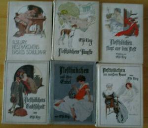 Nesthäckchen 6 Bänd von Else Ury .s.Bild.