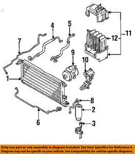 TOYOTA OEM 89-94 Pickup Air Conditioner A/C AC-Condenser 8846035020