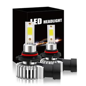 Super Mini 9005 HB3 H10 LED Headlight Kit High Beam Bulbs 60W 6600LM Fog Light
