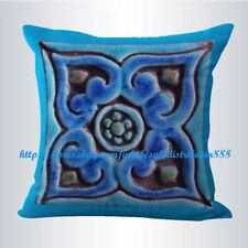 US SELLER-turquoise moroccan geometric cushion cover sofa decorative pillows