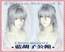 Fate/Grand Order Antonio Salieri Short Costume Cosplay Wig +Track +CAP