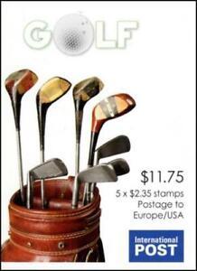 Australia 2011 Golf Bag International Post / Phil 254131 ($11.25) - B498
