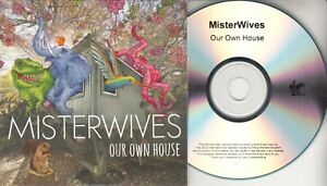 MISTERWIVES Our Own House 2015 UK 12-trk numbered promo test CD