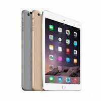 Apple iPad Mini 3 A1599 A1600 16GB 64GB 128GB Unlocked Cellular WiFi Mini 3rd