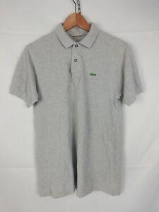 LACOSTE Polo Maniche Corte Maglia T-Shirt Tg 3 Uomo Man